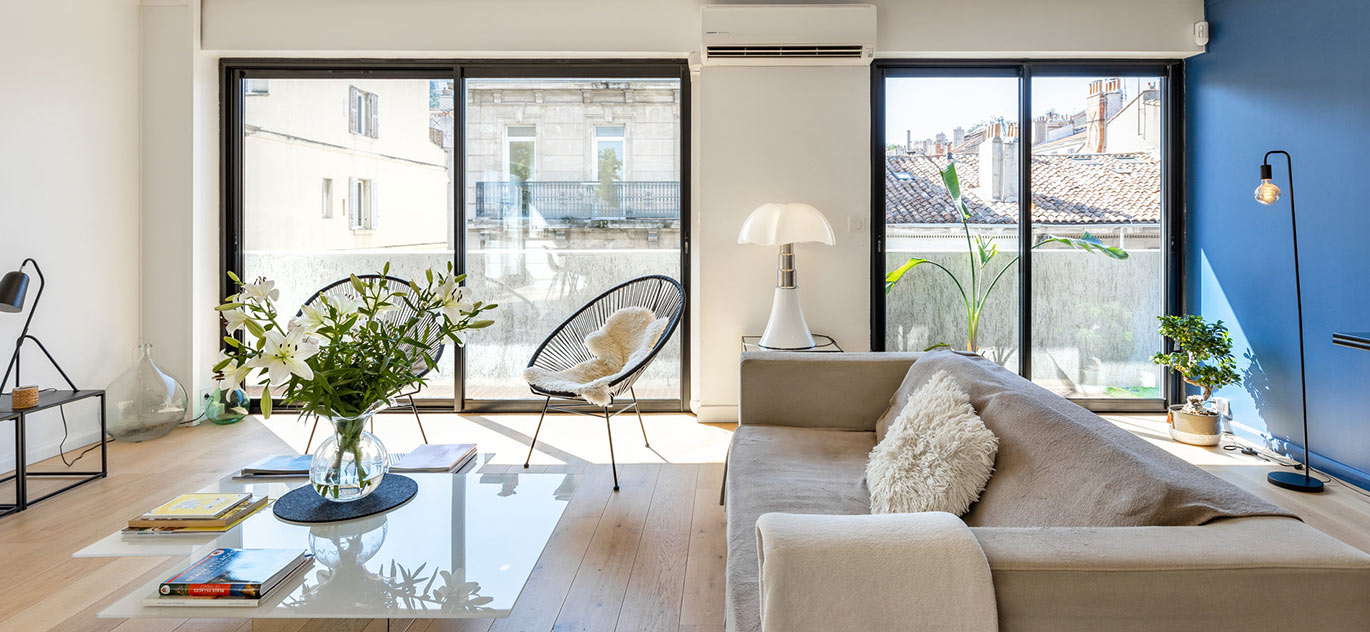 Marseille - France - Apartment, 4 rooms, 2 bedrooms - Slideshow Picture 1