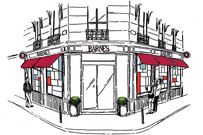 The BARNES brand