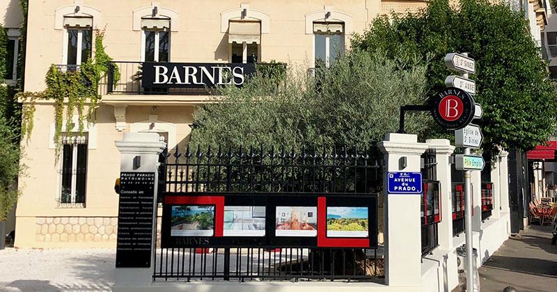 Barnes ouvre un bureau à Marseille
