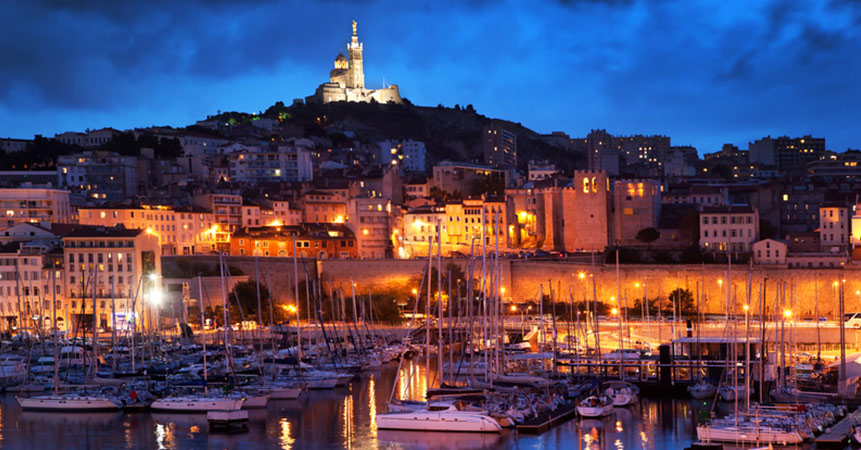 See the light of Marseille and never look back